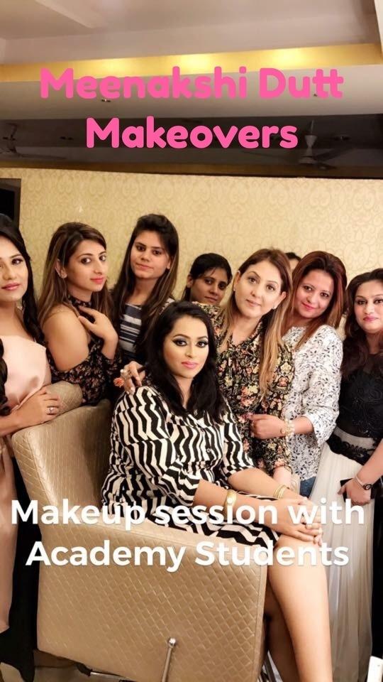 #makeupacademy #makeupartistindia #makeupacademydelhi #learnmakeup #bestmakeupartistindelhi #meenakshiduttmakeoversdelhi #meenakshiduttstyle #mua #mua #bestmakeupartist #roposomakeup #roposomakeupdutts #roposodutts #Hi! you can call us between 11.30am to 7pm for details, we are at Club Road, Punjabi Bagh and Shivalik main road, near Panchsheel Park South Delhi call at : 9560704164 ,08826963239 or 01147563972 ,01147563973, 01141755112, 01141755111 #Contact Meenakshi Dutt Makeovers Kanpur call at 9793963641,9889696666.,8601933933.
