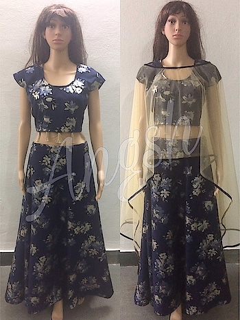 #skirt #umbrella #coptop #lycra #flowerprint #stylish #trending #poochu #boatneck #designer #angsh #jaipur #festivecollection #traditionallook  Dm to order😊