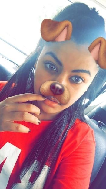 ❤️Puppy 🐶 face filter #lovesnapchat #soroposogirl #roposoblogger #pupface # #snapchat