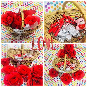#staytuned with @saira7795  OWNER- @rawking_rubss  ❣️Valentine special ❣️👉🏻Basket includes  🌹ROSE DAY - Paper roses big sized 🐣TEDDY DAY - Teddy Keychain 🍫CHOCOLATE DAY - 7 handmade Chocolates for valentines week 🤝PROMISE DAY - 7 promise notes for whole week. 580+shipping only Can b customized😍Dm for orders📥 #saira #gifts #dresses #fashion #trendingnow #valentinetheme #valentinesdays #roseday #chocolateday #promiseday #teedyday #valentinesgift #handmadegifts #handmadelovers #lovers #valentinesgiftforhim #valentinesgiftforher #handmadefashion #shoppingonline #sairacouture #multiplestore #ordernow🤗 #dmfororders📥