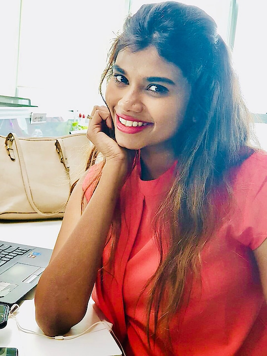 When you are bored at work, you click a selfie 🙈💕  #selfie #selfiemode #style #styleblogger #fashion #fashionable #fashioninspi #blog #blogger #igers #india #smile #indian #styling #ootd #motd #potd #outfit #office #formalwear #casual-clothing #clothing #neon #colors #fashionstatement #indianfashionblogger