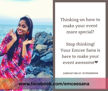 Make your #special #moment more #FABULOUS❤️ #event #emcee #anchorsana #birthdaybash #wedding #sangeet #corporate #outing #teambuilding #dealersmeet #familygettogether #specialday