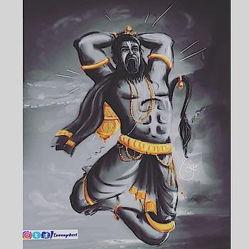 Jai shree ram jay veer hanuman  #shreeram #shreerambhakat #lordrama #ayodya #om_love_light_om #photooftheday #india #artsy #om #hanuman #pavanaputra #graffitti hanumanjayanthi #sitaram #ramalaxmanajanaki