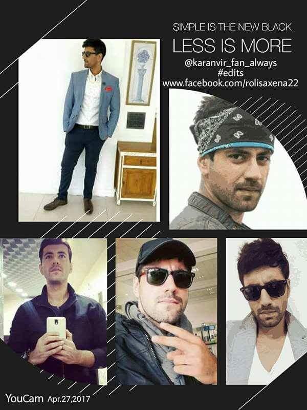 A very stylish person just my idol #karan @karanvirsharma