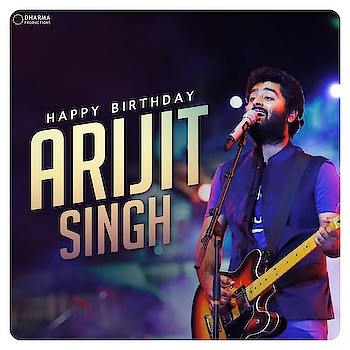 From #AeWatan, #Kabira to #ChannaMereya, his voice can make the entire nation swoon & create chart-busting songs effortlessly! Happy birthday #ArijitSingh!😀 #HappyBirthdayArijitSingh