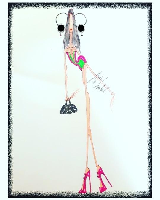 fashion illustration  #womenswear
