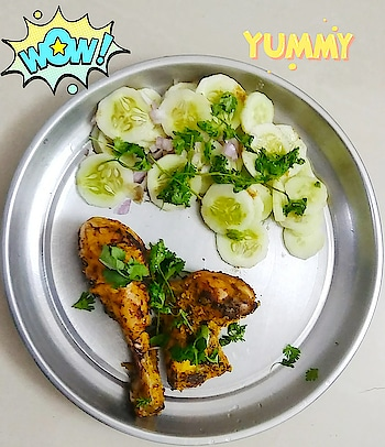 Easy steps to make Tandoori chicken using gas stove.Check out the link in below comments section and try this recipe today only.  ...Just chill friends and enjoy... #tandoorichicken #tandoori #tandoor #kitchentips #kitchenhacks #kitchen #cusines #continental #continentalfood #barbeque #barbequenation