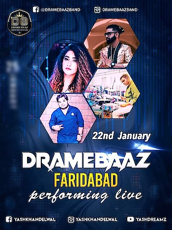 so aaj kha drama hone wala hai, faridabad me so guys ready with one and only Best Band Drame Baaz 💎✨🇮🇳  #Dramebaaz #socialevent #indianwedding #destinationwedding #djbasedband #bestentertainer #performer #wedmegood #weddingsutra #weddingin #shaadisaga #giglife #blessed #beyondyourimagination