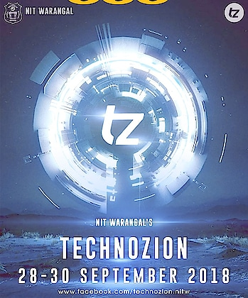 Did you miss out on the last year's edition of Technozion? Oh then, Tz missed you and you missed the Tz's extravaganza. Ask the previous attendees about the spectacle at NIT Warangal and we bet you'd be compelled to voyage down to Warangal. We promise, that this Technozion is worth skipping your exams, but don't fret about your academic schedules, because we care for you and have decided the dates so that most of you will be able to walk past the NIT Warangal's gate. So, get ready, roll your sleeve up, for Tz is not as far as much as a star, but in September during 28, 29 and 30th.   Like the page for more updates and check out the link below to dive into last year's Alquimia based Technozion. https://www.facebook.com/technozion.nitw/ #September28To30 #TzIsComing #NotAsFarAsMuchAsAstar