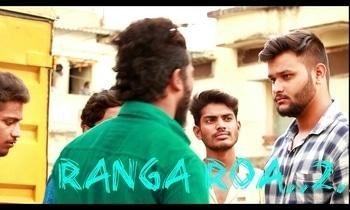 my Short film RangaRoa2...Shoot Done ..Soon I'll announce Date to Release ..