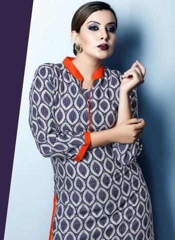 #rayonkurtis #casualwear #trendy #printedkurtis #multicolor #designer-wear #fullsleeves #collar  #kurtisforwomen #kurtistyles