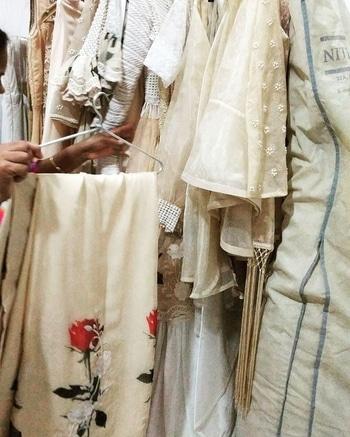 When the collection looks equally beautiful on the racks as it does on a model 😍 #DOILY is here!!! #newcollection #summercapsule #destinationwedding #destinationbride #resort #traveldiaries #nityabajaj #labelnityabajaj  #doilyonracks
