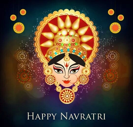 May this Navratri lighten up your life with joy, contentment and success. Wishing you and your family a #HappyNavratri