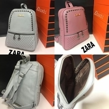 ZARA  BAGPAK   Size BAG Height ---- 12 Wide ----12 Base -- 4  Material synthetic leather👌🏻. *ONLY @ 1050/- WID SHIP*