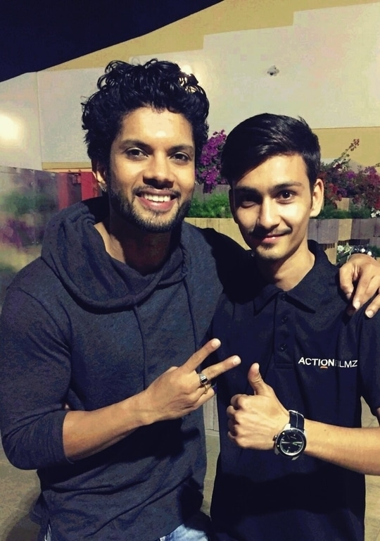 me with abcd fame shushant pujary #abcd