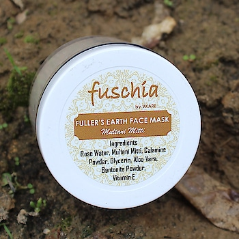 #Fuschia #fullersearth #multanimitti #facemask   Benefits of Multani Mitti  Multani Mitti is known to fight#acneand #pimples.  Removes excess sebum and oil.  Deep cleanses skin removing dirt, sweat and impurities.  Evens out skin tone and brightens complexion.  Treats #tanning and #pigmentation.  Effective in treating #sunburn, #skinrashes and #infections (multani mitti is an effective cooling agent)  #naturalskincare #handmade #facialathome #facecare #ayurvedic #grandmarecipe #madeinindia #chemicalfreeskincare #nottestedonanimals