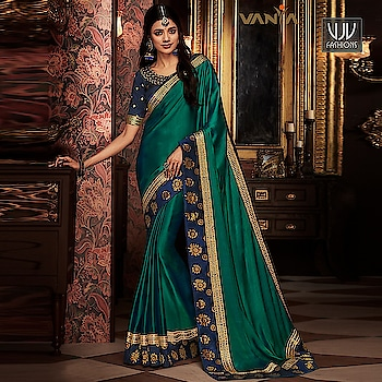 Buy Now @ http://bit.ly/VJV-VANY1711  Unique Green Color Fancy Fabric Designer Saree  Fabric- Fancy Fabric  Product No 👉 VJV-VANY1711  @ www.vjvfashions.com  #saree #sarees #indianwear #indianwedding #fashion #fashions #trends #cultures #india #instagood #weddingwear #designer #ethnics #clothes #glamorous #indian #beautifulsaree #beautiful #lehengasaree #lehenga #indiansaree #vjvfashions #pretty #celebrity #bridal #sari #style #stylish #bollywood #lehengasaree