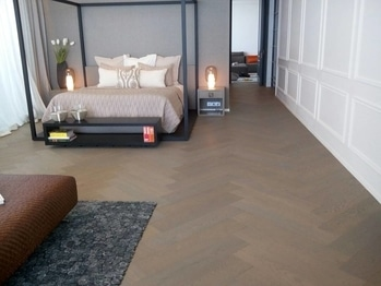 wooden flooring and Upvc windows