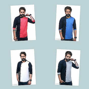 Check bio and dm me for shopping _Look stylish with these Elegant Trendy Cotton Printed Men's T Shirts. Stay Fashionable!_  Catalog Name :*Elegant Trendy Cotton Solid Men's T Shirts Vol 3*  Fabric: Cotton  Sleeves: 3/4 Sleeves Are Included  Size: S, M, L, XL, XXL ( Refer Size Chart )  Type: Stitched  Description: It Has 1 Piece Of Men's T Shirt  Pattern : Solid  Dispatch: 2 - 3 Days  Design : 4  Easy Returns Available in Case Of Any Issue #fashion  #clothes  #menswear  #womenswear  #shirts  #tshirts #jacket  #shoes  #sneakers #watches  #earphones  #powerbank  #shorts  #dresses  #pants #heels  #highheels #beautiful  #saree #indianculture  #indian #onlineshopping  #bestdeals  #bestproducts #jewellery  #earrings #maharashtra #delhi #gujarat
