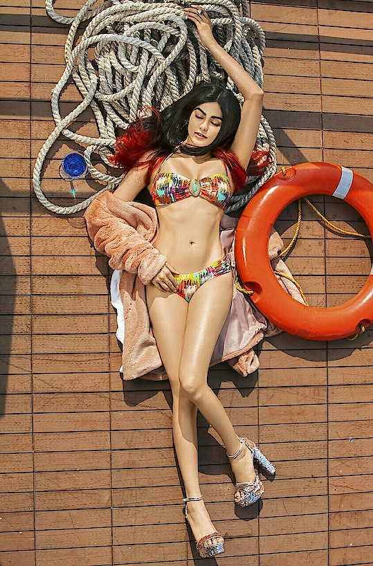 Steps on how to have a bikini body  1) get a bikini  2) put your body into it