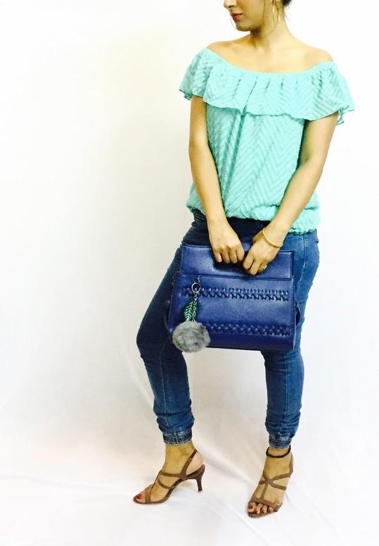 #blog going live soon #offshoulder  #greentop #joggers #jeans #heels