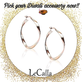Its the month of celebrations!!  Pick your Diwali accessory now only from www.lecalla.in  #DMfordetails  #LeCalla #diwaliaccessory #jewellery #Silver #hoopearrings #dailylook #instajewellery #womenfashion #karvachauth #karvagift #instagood #ootd #ootdfashion #photooftheday #unique #musthave #diwali #diwalijewellery #girlsfashion #trendy #elegant
