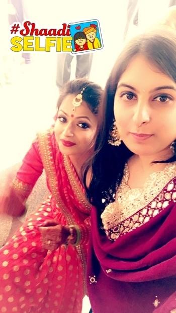 #bffswedding #shaadiselfie