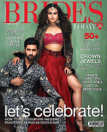 #VickyKaushal and #SonakshiSinha for #BridesIndia ♥️  @aslisona