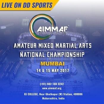 #AllIndiaMixedMartialArtsFederation #mma #LiveFight #DD Sports #AmateurMixedMartialArts #NationalChampionship #AIMMAF #UpcomingFight 👊🏻👊🏻