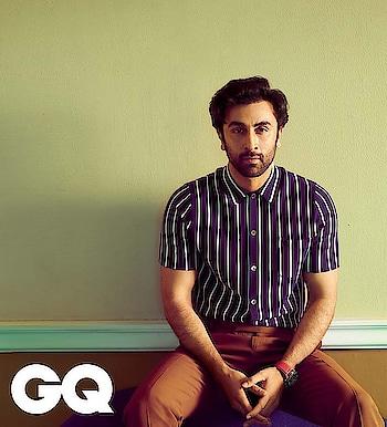 Ranbir Kapoor for GQ magazine 🖤  #ranbirkapoor #gq #gqindia #gqmagazine #sanju #sanjumovie