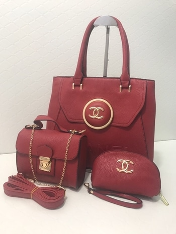 CHANEL HandBags 👜  3-piece Set available in 6 different colours.  Contact us for inquiries.  Order before Stock Runs Out.  Follow us for latest updates📩 . #handbag #handbags #purse #purses #slingbag #slingbags #sling #tote #totes #totebag #chanel #chanelbag #threepiece #3 #threebags #colours #colour #differentcolours #newcolours #colourful #colourpop #trending #chanelbags #chanellover #brand #brands #brandedstuff #branded #internationalbrand #internationalbrands #bags