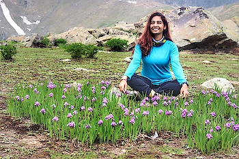 Kashmir turns into a valley of flowers in July and August! So many varieties that you never saw and in so many colors that you can't even think of!  I could make a separate video on just that!   If you haven't watched the video on this trek then please do!  Link - https://youtu.be/icoek-CeMbY     #kgltrek #kashmirgreatlakestrek #kashmirgreatlakes #kashmir #trekking #trekker #himalayantrek #highaltitudetrek #travelblogger #travelpicture #indiantravelblogger #travelvlogger #indiantravelvlogger #indianyoutuber