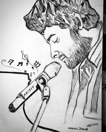 #sketch #arijitsingh #arijit #music #musician #art #artwork #drawing #sketchinglove #birthday #halfgirlfriend #arijit_singh