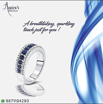 Sparkle in elegance and grace with the most unique and alluring designs of Anaira's Jewels. Call Us- 9871104290 #AnairaJewellery #Diamonds #Sparkle #Elegance #Grace #Unique #Alluring #Designs