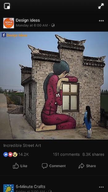 3D Street painting 🎨  👌🏻   #wallpainting #wallpaint #walldecorating #walldecoration #walldecor