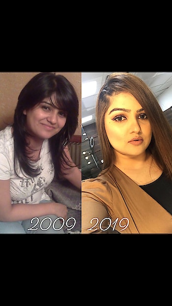 "#10yearchallenge  ""A lot can happen in 10 years"" 💁🏻‍♀️🤗😉🤣🤩😊💁🏻‍♀️from Simple girl to Professional MUA 👩‍🎨 the most beautiful 10 years ♥️ 2019 - Building & Creating my own empire.  #beforeafter #10yearchallenge #bethechange #dreambig #createyourownstory #loveyourself #passionofmakeup #entrepreneur #glowupchallenge #2009 #2019 #10yearschallenge #lookingback #forevermuas #zmua #makeupbyzayna 👩‍🎨 FOREVER Makeup Academy & Studio  @makeup_by_zayna 👩‍🎨"