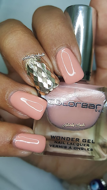 ColorBar - Wonder Gel Collection - Sweet Sand - CWGN001 . #wondergel #colorbarwondergel #colorbarsweetsand #sweetsand #sweetsandcolorbar . @lovecolorbar . @colorbar  . ☄️ It thicker then the usual polishes which looks richer !! ☄️ Dries real fast like within a minute ☄️ Love the Brush specially the round cut and fan shape makes application super easy and convenient ☄️ Non-Yellowing ☄️ Chip Resistant ☄️ Non- Carcinogenic ☄️ Won't transfer on the Nail bed ☄️ Lasts for more than a week ☄️ No UV Lamp Needed  Most of all ... ☄️ 100% Cruelty Free ☄️ #lovecolorbar #colorbar #colorbarnails  #peachnails #peachnailpolish #lovecolorbarindia #NailingMyNails #nailsoftheday #nailsofinstagram #nailpolishswatch #nailpolishblog #nailpolishblogger #polishswatch #nailsonfleek #colorbarcosmetics #colorbarindia #gellikepolish #colorbarnailpolish #colorbarnaillacquer #nailsonfleek #nailie #nailstagram #nailiesbyarushi 💚