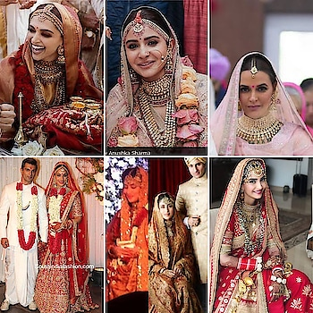 Instagram : ravichandranneha_styletrinity. Yet another Bollywood diva got married and I am super impressed with these beauties, who know how to ace there bridal looks. They all kept it simple, stylish , elegant and Sheek. Not going over the top @deepikapadukone @anushkasharma @nehadhupia @sonamkapoor @therealkareenakapoor @bipashabasu @kareenakapoorkhanoffi . #newbridalera #elegantbrides #bridesofindia #myinspiration #elegance #loveformakeup #naturalbrides #neharavichandran #styletrinitycounsellingandimageservices
