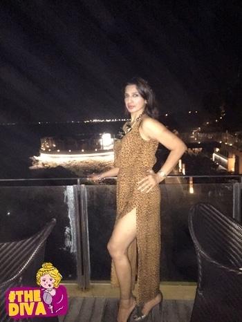 @bambooblonde #bambooblonde #slitdress #cheetahprint #catslife #thediva