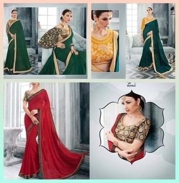 #saree #sareestyle #sareeonline #sareeblouse #sareeindia #sareedrape #designerwear #desi #designer saree #designersandyou #fashiontrends #fashionindia #fashionforecast2017 #fashion-diva #indian fashion #fashionlook #trend #trendinglive #glam #chic #chicstyle #glamorouslook