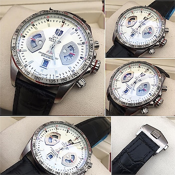 Luxury Watches for Him  Tag Heuer  # Highest quality only  # Pure 1st copy  # 12A grade quality  # Working Chronograph with high quality machinery  # High quality stainless steel metal chain or genuine leather strap  # with brand box   To order or to know more please whatsapp or call us  Whatsapp7307350695  Visit our website  Https://jjcollections.weebly.com  Code. 99289318549pt #replicawatches #1stcopywatches #12a quality men's watch with orignal packing #mirorcopy #luxurywatches #fashionformen #men-branded-shopping #menswatches