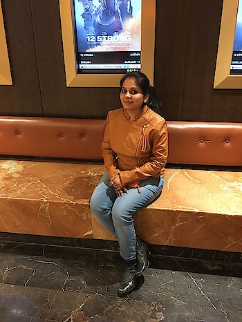 My first post of 2018 😍  #winterfashion #jacketlove #denimlove #fashionbloggerstyle #indianfashionblogger #ootd