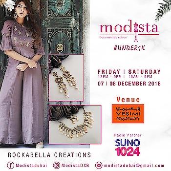@rockabellacreations brings a treasure trove of uncut polki sets to make you shine bright & go bold only at Modista on 📅 Fri, 7th Dec, 12 - 9pm 📅 Sat,  8th Dec, 10 - 9pm 📍 @vesimi , DUBAI . . #modistadxb #modistarocks #modista #wintershow #under1k #fashionandlifestyle #designerwear #instafashion #shopaholic #shoptillyoudrop #mydubai #uae #abudhabi #picoftheday #shopping #fashionexhibition #fashionblogger #celebritystyle #westernwear #workwear #luxurypret #shopthelook #lifestyle #exhibition