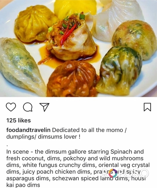 Client Diaries: The Monk at Hotel Galaxy and Spa, Gurgaon is the perfect place for dimsum lovers. Thankyou for visiting and featuring us team @foodandtravelin. We look forward to serve you again.  . . . #themonk #galaxyhotelandspa #dimsums #dimsumparadise #dimsumlover #goodfood #goodvibes #tasty #yummy #delicious #foodporn #foodstagram #eeeeeats #dimsumsingurgaon #bestingurgaon #weekendgetaway #luxurygetaway #rejuvinate