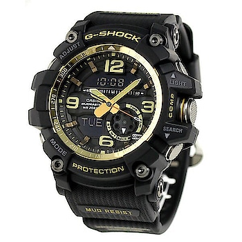 ❤❤ *G SHOCK MUDMASTER.. BACK IN STOCK* ❤❤  # Casio # GG1000 # For Men # Case Size- 56.2 x 55.3 mm # Case Thickness- 17.1 mm # Case Material- Black Resin # Dial Type- Analog & Digital # Crystal- Scratch Resistant Mineral # Water Resistance- 200 meters / 660 feet # Features- Full Auto Calendar, Hour, Minute, Second, Digital Compass,Thermometer, LED Backlight, World Time, 5 Daily Alarms, Hourly Time Signal, 12/24 Hour Format, Alarm, Calendar, Compass, Rubber, Thermometer, World Time, Shock Resistant, Mud Resistant  🌟 *NEW PRICE* 🌟  ✅ *Only ₹3000 including Shipping and Original Casio G Shock Box* ✅