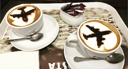 What's better than this innovative cappuccino to start your journey @costacoffee @costacoffeeindia .. what say guys?  I am totally recharged for my next adventure..!! #coffee #cappucinno #costacoffee #costacoffeeworld #costacoffeeindia #igiairportdelhi #igiairport #airport #niskani #travelphotography #traveldiaries #instapic #hoppingheels #lifestyleblog #lifestyleblogger #travelblogger #travelblog #indianlifestyleblog #instatravel #indiantravelbloggers #travel #lonelyplanet #natgeotravel #incredibleindia #natgeotravellerindia #discoverychannelindia #airvistara #lonelyplanetindiamagazine #shotoniphone #shotoniphone8plus