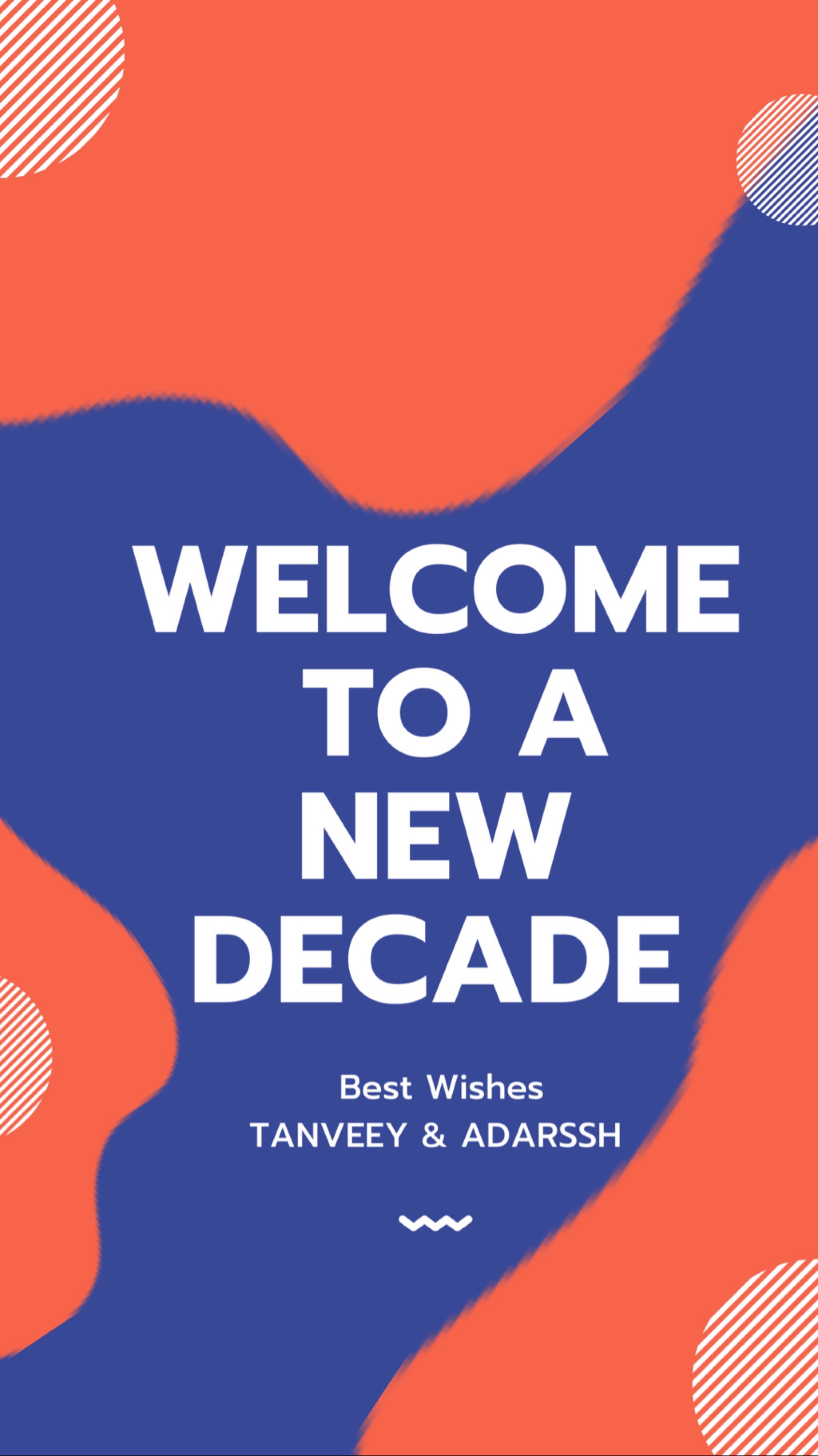 Welcome to A NEW DECADE ✨🌝✨  #newyear  #bestwishes
