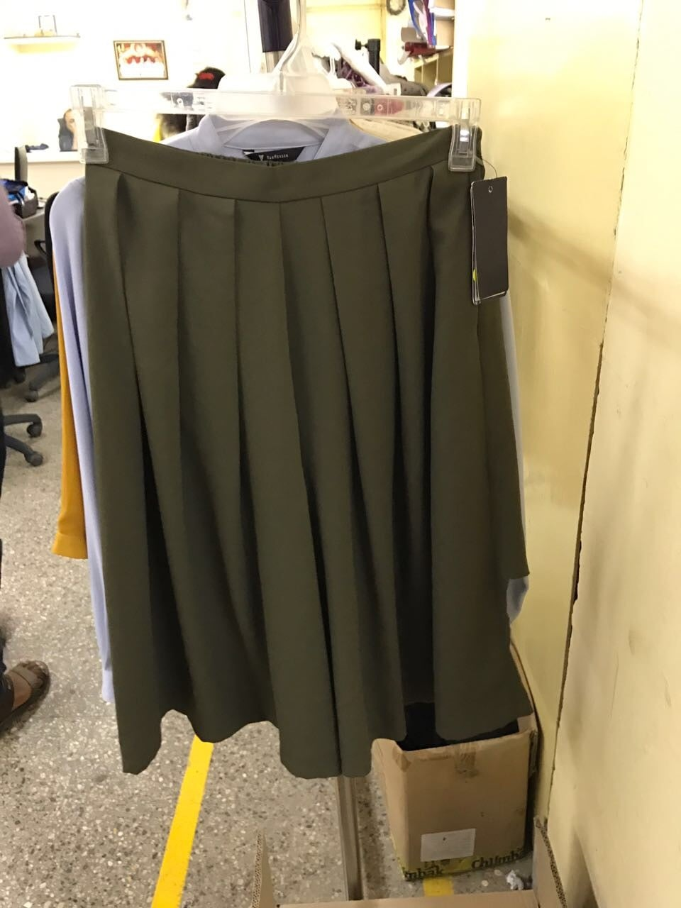 Olive Culottes. Whatsapp to order