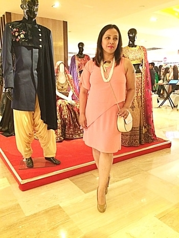 If you want to be original, be ready to be copied 😜....at #thebestpriceshow organised at @thelalitgroup wearing #AND dress and @debenhams pumps 👠#fashionblog #fashionblogger #fashiongram #fblogger #fashiondiaries #ootd #outfitoftheday #lookoftheday #wearit #wiw #whatiwore #instafashion #styleblogger #streetstyle #fashion #indian #mumbai #bangalore #delhiblogger #instaphoto #gurgaongram #indiagram #lifestyle #instastyle #followme #weheartit #sunday #streetstylephotography