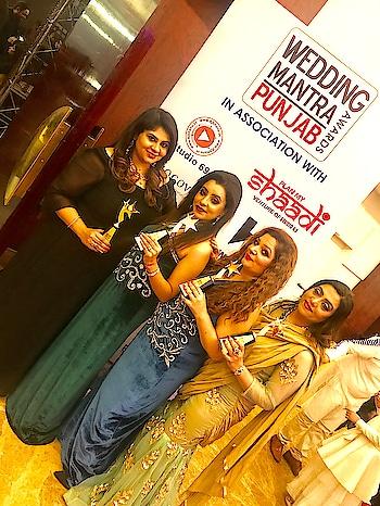 Winners  Wedding Mantra Awards . . . . . . #awards #award2017 #weddingmantra #magazine #winners #swag #style #posing #instapic #instagram #instagood #love #fashion #fashiondiaries #swagger #blogger #makeup #mua #designer #pr #combo #nehaamitsingla #amilliondollaraffair @nehaamitsingla @bambaneha @shalinihoonar @kalradeeksha